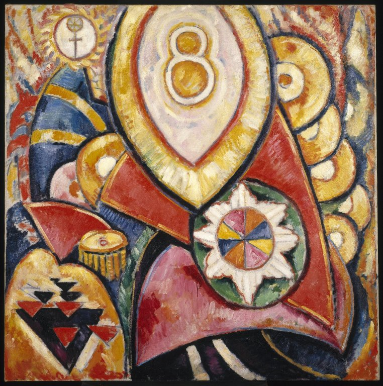 Brooklyn_Museum_-_Painting_No._48_-_Marsden_Hartley_-_overall