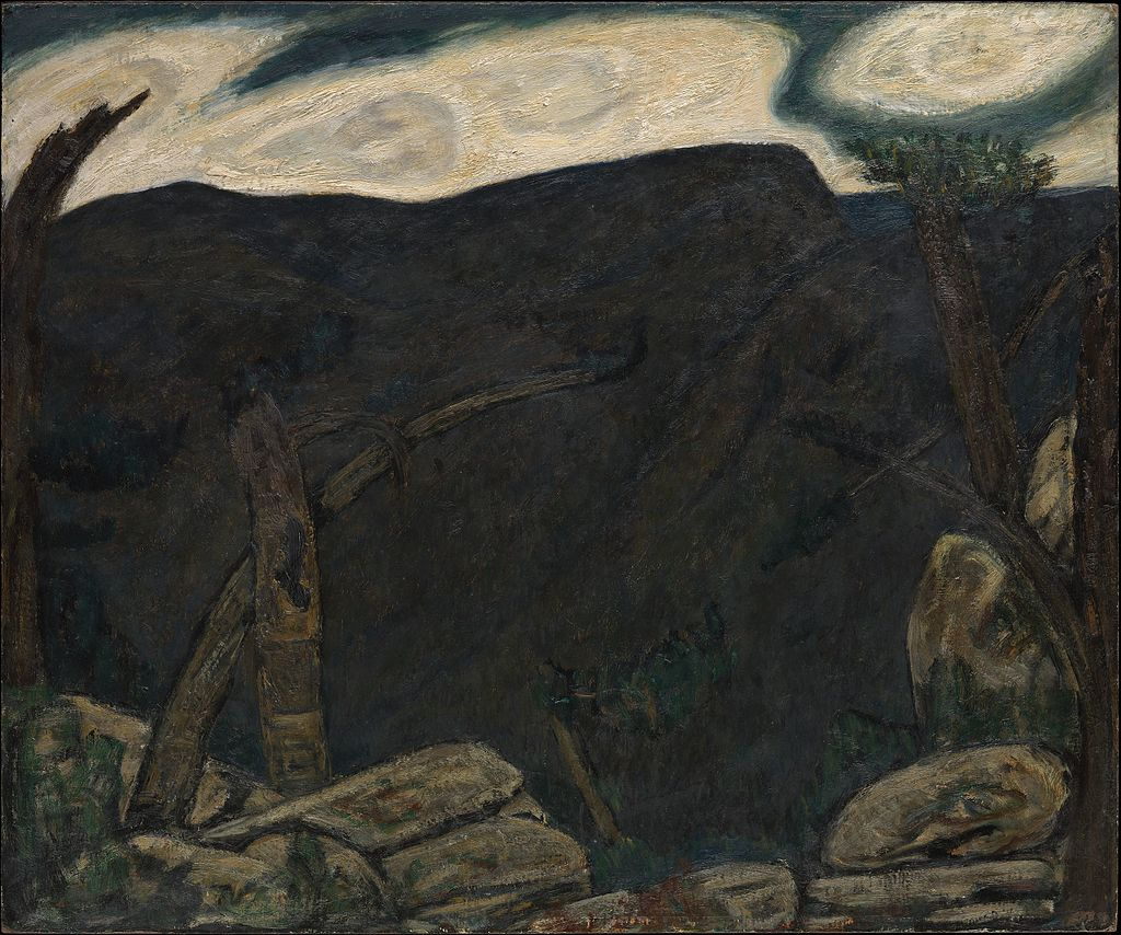 The_Dark_Mountain__No._2_-_Marsden_Hartley