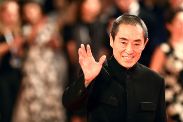 096 hang Yimou attends Ying (Shadow) screening and 2018 Jaeger-LeCoultre Glory To The Filmaker Award to Zhang Yimou during the 75th Venice Film Festival