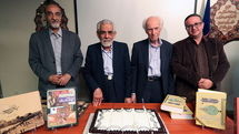 National library honors four Iranian cultural luminaries