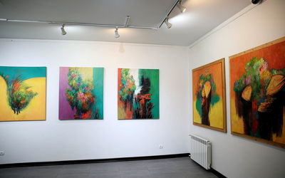 Mohammad Reza Firouzei Art Exhibit in Pol Gallery