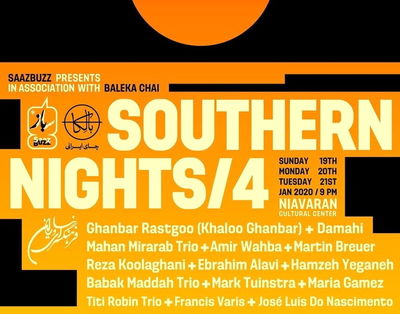 Overseas Musicians Performing at Tehran Southern Nights Festival