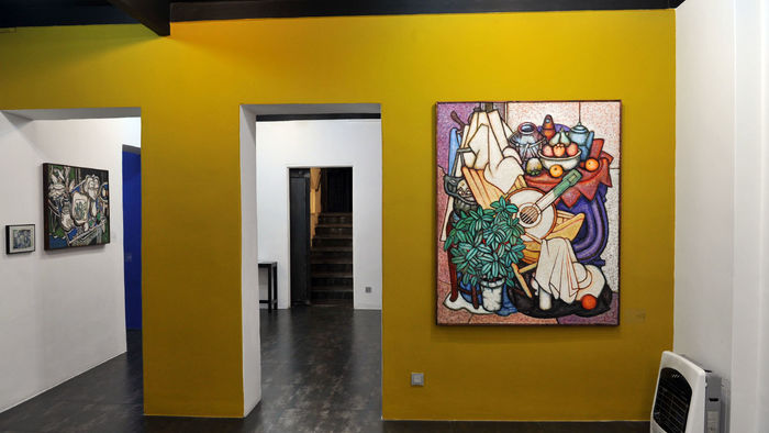 Aria Gallery Hosting Garnic Derhagopian Painting Exhibition