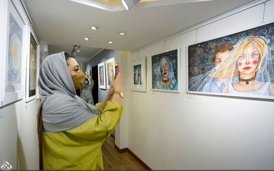 A Selection of Works Displayed in Galleries in 2020(1399)3