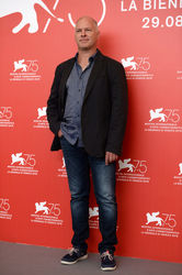 095 Vlad Ivanov attends _Napszallta (Sunset)_ photocall during the 75th Venice Film Festival