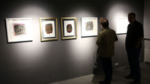 A Gallery Hosting Duo Art Exhibition