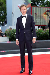 096 Laszlo Nemes walks the red carpet ahead of the _Napszallta (Sunset)_ screening during the 75th Venice Film Festival
