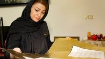 Female calligrapher Maryam Kazemi inscribes entire Quran