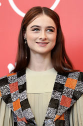 09994 Raffey Cassidy attends _Vox Lux_ photocall during the 75th Venice Film Festival