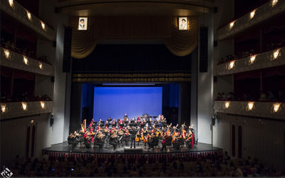 Accompaniment of 170 musicians from all over the world by invitation of the Roudaki Artistic Cultural Foundation/Film