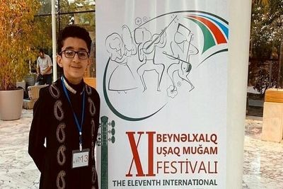 Iranian Teenage Singer Wins at 11th Intl. Festival of Mugham Music