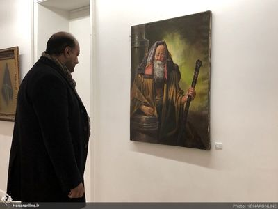 Tehran Museum Displays Works by Kamalolmolk Followers