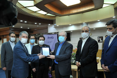 """""""The Song of Humanity"""" music track was unveiled in the presence of the Ministers of Health and Islamic Guidance"""