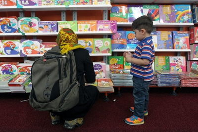 Children take center stage on Italy's Day at Tehran book fair