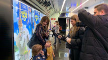 Iran's Elephant King Trumpets at Russian Theaters