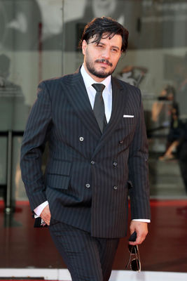 097 Javad Ezzati walks the red carpet ahead of the movie Khorshid (Sun Children) at the 77th Venice Film Festival on September 06_ 2020 in Venice_ Italy4