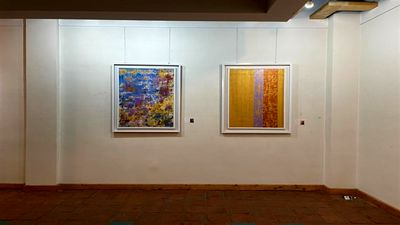 'Mehr Rang' painting exhibition opens in Tehran