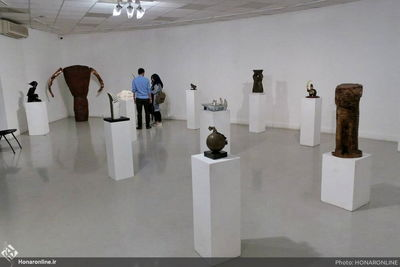 Association of Iranian Sculptors' Exhibition Underway at IAF