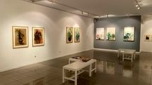 Shirin Gallery is playing host to an exhibition drawings by Shirin Etehadie
