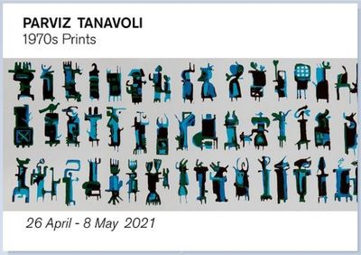 A Solo Exhibition by Parviz Tanavoli, Iranian artist, in London