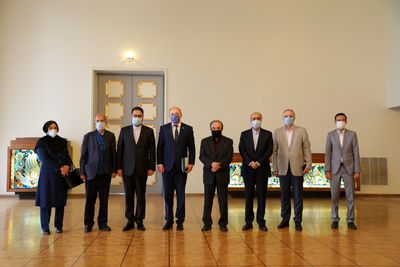 Deputy Minister of Art and ECO cultural institute's head meeting