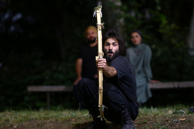 Shahnameh-inspired play on stage in Niavaran Park