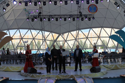 Iranian orchestra performs in Astana