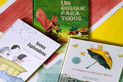 Children's books by Persian writers published in Spanish
