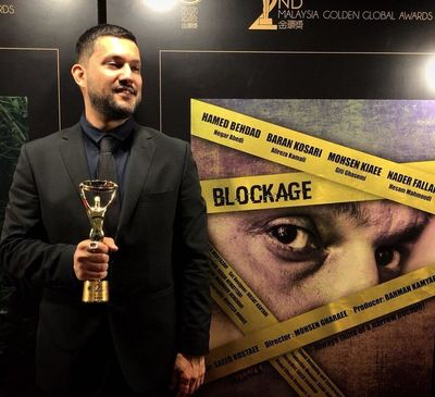 Hamed Behdad named best actor at Malaysia Golden Global Awards