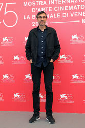 097 Ramin Bahrani attends Bloodkin photocall during the 75th Venice Film Festival