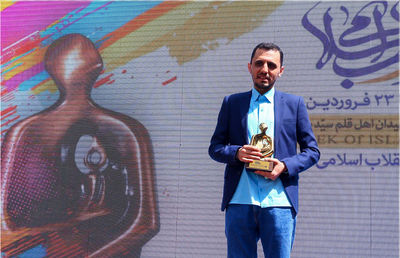 Hassan Ruholamin named Islamic Revolution Artist of  the Year
