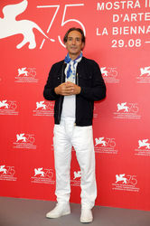 03 Alexandre Desplat attends _The Sisters Brothers_ photocall during the 75th Venice Film Festival