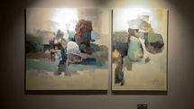 Zhila Kamyab Painting Show Launched