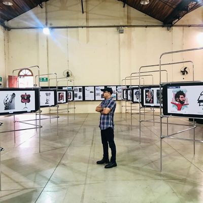 Iranian Artists Pakdel, Darabian Selected for Piracicaba Cartoon Exhibit Jury