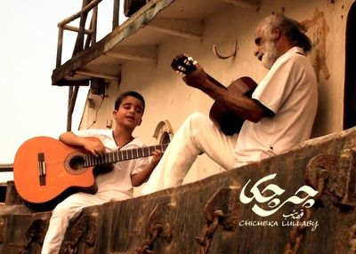 Art house Film Chicheka Lullaby Chronicles Life of Musician Ebrahim Monsefi