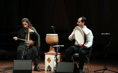 Naghsh ensemble concert at the first online concert of instrumental music at Roudaki Hall |Film
