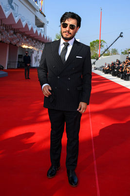 093 Javad Ezzati walks the red carpet ahead of the movie Khorshid (Sun Children) at the 77th Venice Film Festival on September 06_ 2020 in Venice_ Italy.