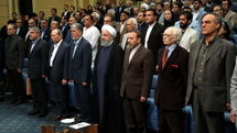 President Rouhani Meets Artists, Collaborators of Culture
