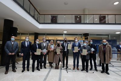 Iranian cartoonists honored at Zagreb Salon of Car Caricatures