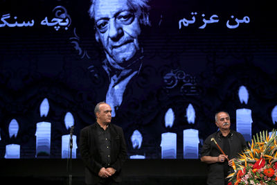 Actor Ezzatolah Entezami remembered at Sangalaj