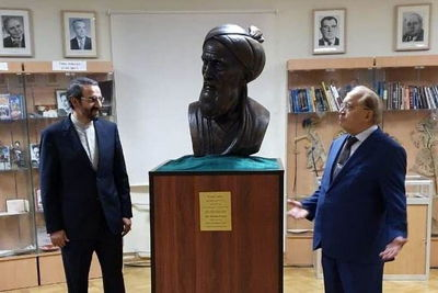 Bust of Persian Poet Rudaki Unveiled at Moscow University