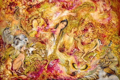 Persian miniature added to national heritage list, artists hailed as Living Human Treasures