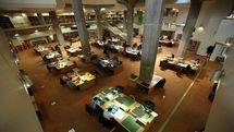 Public halls of National Library and Archives of Iran reopen