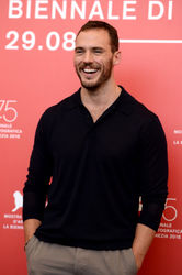07 Sam Claflin attends _The Nightingale_ photocall during the 75th Venice Film Festival