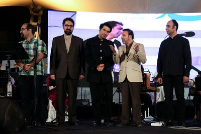 Mohammad Motamedi performs open-air concerts in Tehran