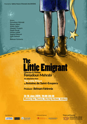 Iranian Troupe to Perform The Little Emigrant in Sydney